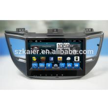 Good quality! Manufacturer Android 6.0 2 din Car DVD Player Radio GPS Navigator for Hyundai IX45/Tucson 2015 2016 Hifi Sound