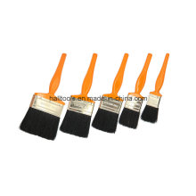 Black Bristle Paint Brush with Plastic Handle