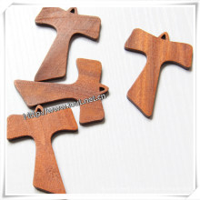 High Quality Solid Wood Cross, Wholesale Decorative Cross (IO-cw026)
