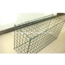 Galvanizado ou PVC Gabion Box Factory / Hexagonal Wire Netting / Stone Cage / Wire Mesh Fence
