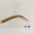 whosale hand-tied human hair lace base fake eyebrow extension