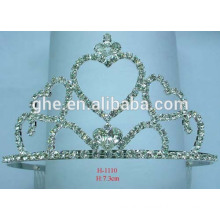 beauty girl crowns and tiaras beaut diamond pageant crown round crown tiara for kids