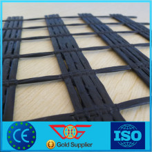 PVC Coated Biaxial Polyester Geogrid