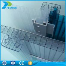 u-lock uv bloquant la feuille de polycarbonate makrolon à bas prix
