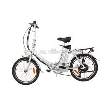 Chinesisches faltbares elektrisches Fahrrad preiswerter Preis Minitasche, die elektrisches Fahrrad faltet