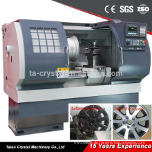 AWR2840 Diamond Cut Alloy Wheel Reparatur CNC-Maschine mit Touch-Probe