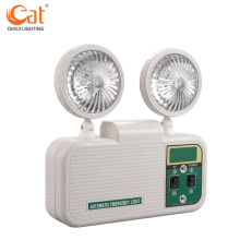 New Rechargeable Twin Spot Led Emergency Light