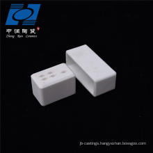 Industry Usage alumina white ceramic socket