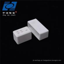 Soquete cerâmico branco da alumina do uso da indústria