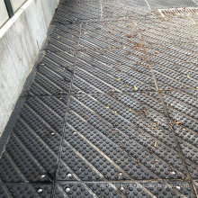 High Quality Metal Stainless Steel Reinforced Insertion Horse Stable Walkway Rubber Mat