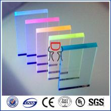 feuille de PMMA acrylique colorée prix bon marché