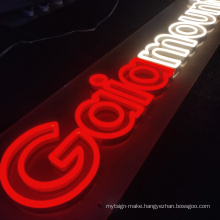 Wall mounted advertising led neon letter sign high quality acrylic lighted custom led neon sign outdoor sign led letters