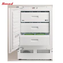 100L R600a Tischplatte unter Typ Freezer mit CE gebaut
