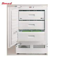 100L R600a Table Top Built Under Type Freezer With CE