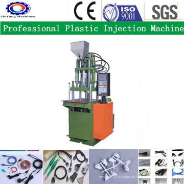 Máquina de moldeo por inyección vertical para cable de PVC Connect
