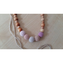 Teething Nursing  Breastfeeding Crochet Necklace