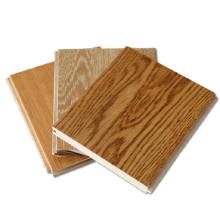 Plancher en bois massif fini de miel T & G Prefinished