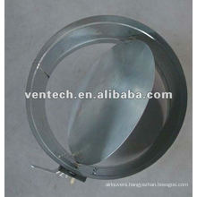 air vent round damper(HVAC)