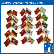 factory custom cheap metal flag lapel pin