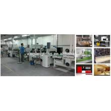 Línea de pintura UV / línea de recubrimiento UV para alto brillo / MDF máquina de revestimiento UV