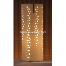 Porzellan handgefertigte Keramik Weihnachtsschmuck Tischlampe