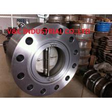 Válvula de retención Duo-Plate de la oblea de alta presión Rtj