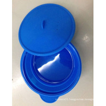 Custom Molded Food Grade Silicone Rubber Bowl with Cover