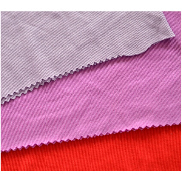 Yarn Dyed Knitted Cotton Spandex Rib Fabricgood Quality Cheap Price