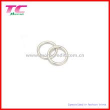 O-Ring de plata brillante de la manera para el bolso, correa, bikiní