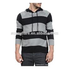 Men's Round Neck Fit Cashmere Hoodie Sweater