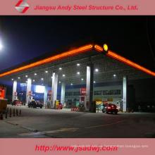 Estructura de acero del diseño Estructura de acero Truss Estación de gasolina de Purlin para 2017