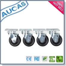 El mejor precio de la fábrica de China el nuevo diseño ruedan los echadores / los echadores de la rueda / el echador de los muebles
