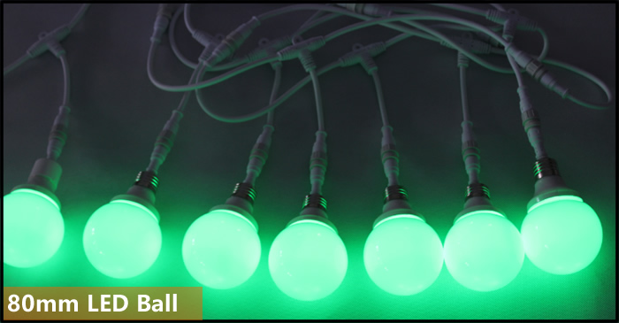 DMX512 RGB LED Bulb Light
