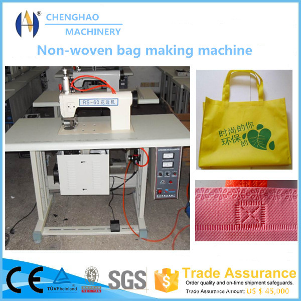 Ultrasonic Lace Machine for Non-woven Bag