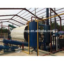 Fabricante ambiental de fabricação de óleo de forno de planta de pirólise de sucata de pneus