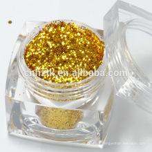 Resistência a solventes Glitter em pó para pintura / esmalte