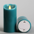 inexpensive Lumina Wax moving wick flameless candles for Modern home
