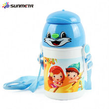 Sublimación Cute Kid Agua Botella 400ml
