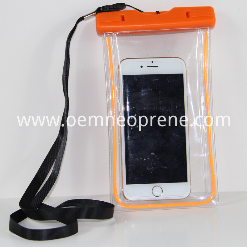 Alt Orange Waterproof Phone Bags