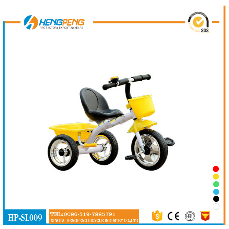2017 children tricycle two seat Baby Tricycle baby twins tricycle for sale