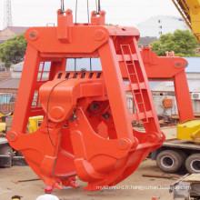 Godet de dragage sous-marin à benne preneuse mécanique