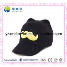 Baby Plush Black Cap Dome Cap Cartoon Barba