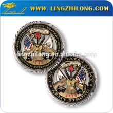 Insignia de moneda de solapa personalizada de fábrica
