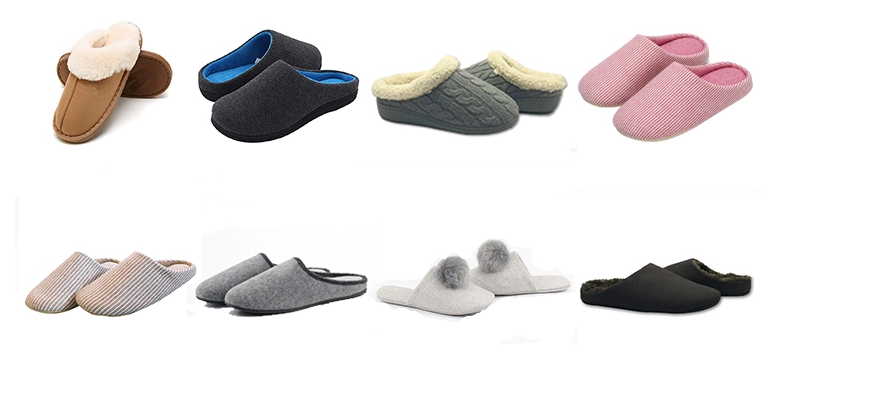 Indoor winter men's slippers