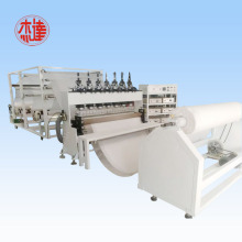 Ultrasounic embossing equipment for mattress