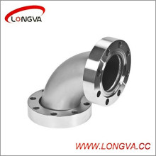 Industry Use Stainless 90deg Flange Elbow
