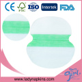 Tampons absorbants jetables d'aisselle de aisselle de coussin d'aisselle pour des femmes