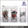 Custom Logo Printing Hiball Glass Tumbler Glass Cup