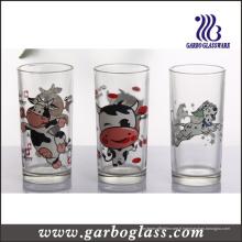 Impression sur logo personnalisée Coupe verre en verre Hiball