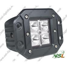 Luz do trabalho do diodo emissor de luz do CREE da montagem 16W nivelada fora do caminhão da estrada